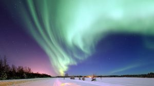 about Canada's Northwest Territories and the aurora borealis
